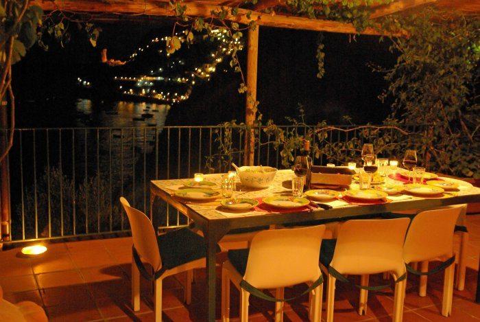dinner main terrace