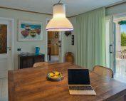 inside: Living room towards loggia